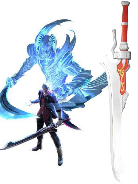 Devil May Cry Red Queen Cosplay Sword