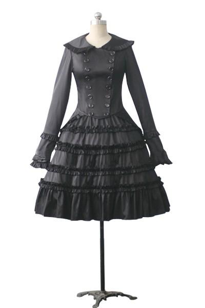 Gothic Lolita Tiered Frill Dress.com