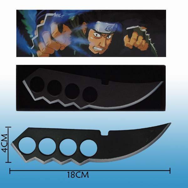 Image of Naruto Cosplay Accessories Asuma's Metal Hand Sword