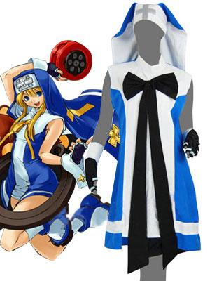 Guilty Gear Bridget Blue Cosplay Costume
