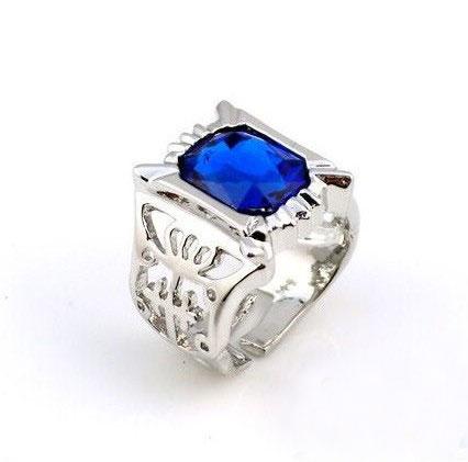 Black Butler Ciel Phantomhive Cosplay Sapphire Ring