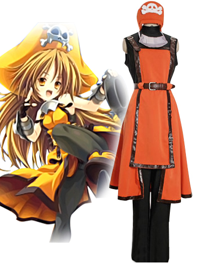 Guilty Gear Jellyfish Pirate May Cosplay Costume.com