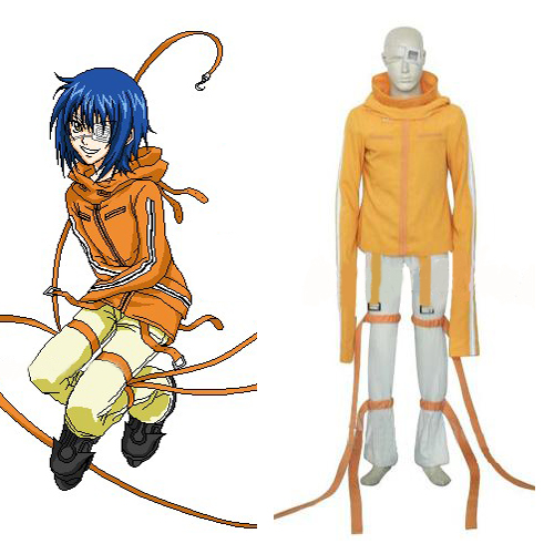Air Gear Akito/Agito Wanijima Cosplay Costume