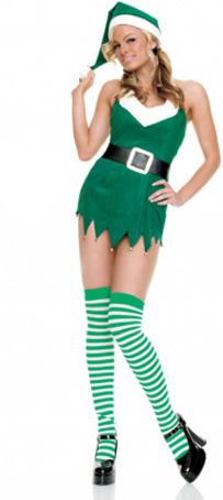 Christams Green Sex Dress Cosplay Costume