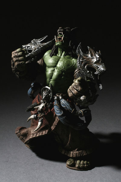 World of Warcraft DC Unlimited Series 1 Action Figure Orc Shaman [Rehgar Earthfury] None