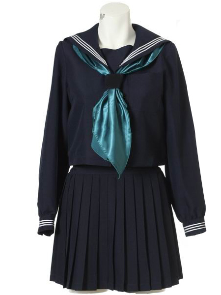 Vintage Style Children's Clothing: Girls, Boys, Baby, Toddler Long Sleeves Sailor Uniform Cosplay Costume $67.99 AT vintagedancer.com