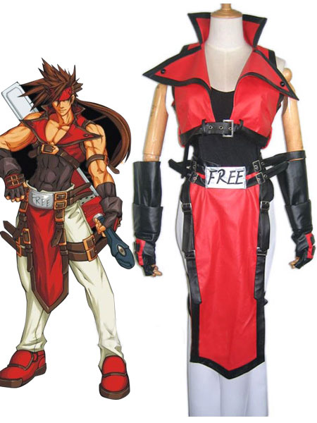 Guilty Gear Sol Badguy Cosplay Costume