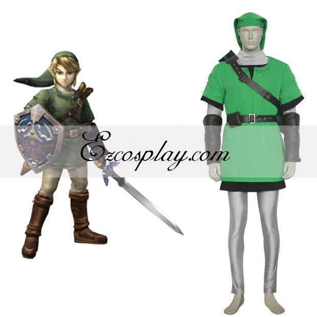 The Legend of Zelda Link Deluxe Cosplay Costume