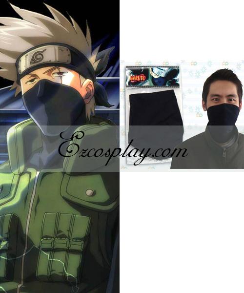 Naruto Hatake Kakashi Face Mask Cosplay Accessory