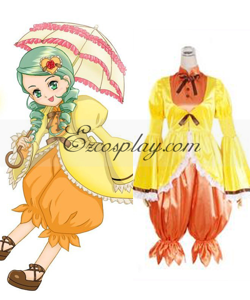 Rozen Maiden Kanaria Cute Cosplay Costume