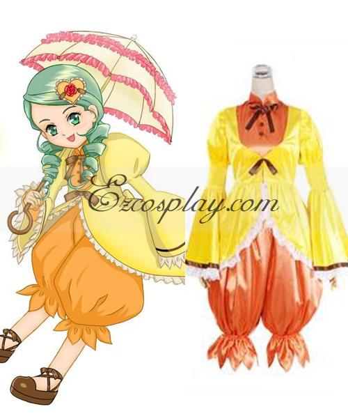 Image of Rozen Maiden Kanaria Lolita Cosplay Costume