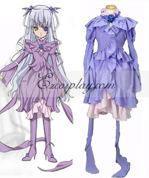 Image of Rozen Maiden Barasuishou Lolita Cosplay Costume