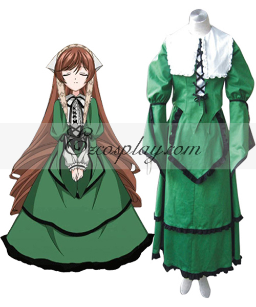 Rozen Maiden Jade Stern Lolita Cosplay Costume