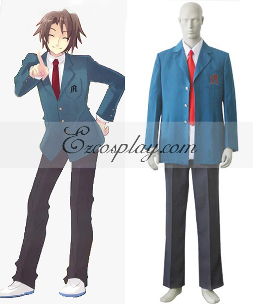 Haruhi Suzumiya Kyon Boy's School Uniform Cosplay Costume None