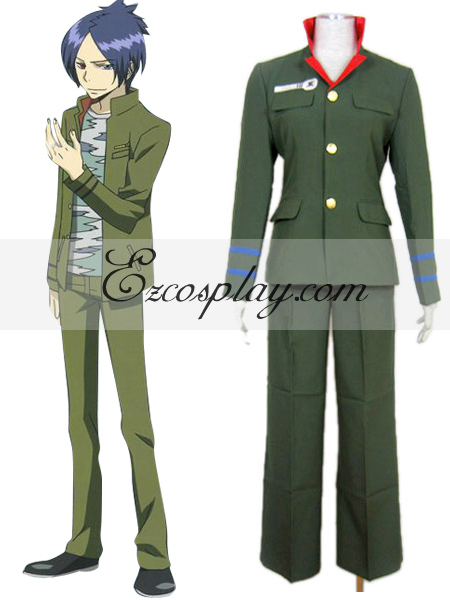 Katekyo Hitman Reborn! Kokuyo School Uniform Cosplay Costume