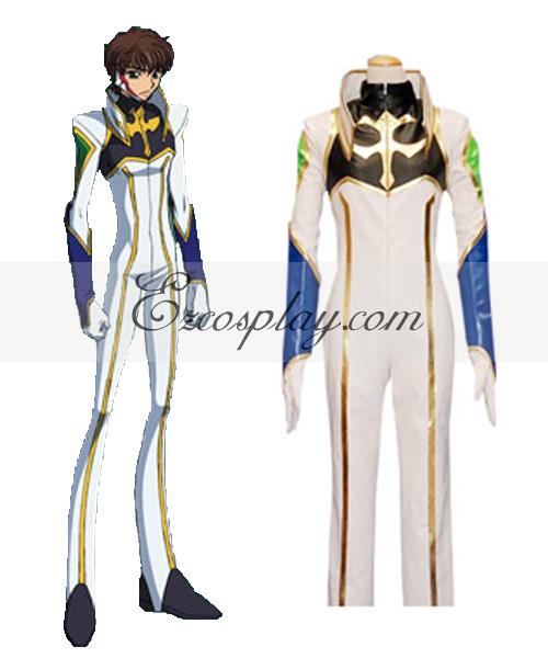 Image of Code Geass Kururugi Driving Suit Cosplay Costume