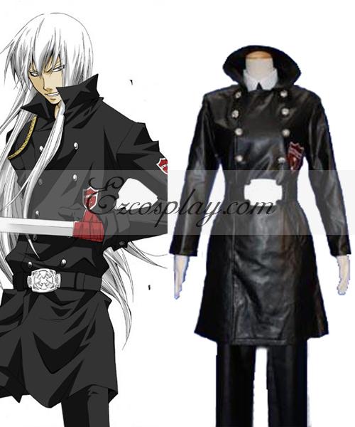 Katekyo Hitman Reborn! Superbia Squalo Varia Uniform Cosplay Costume