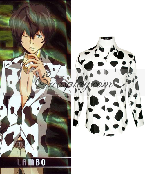 Image of Katekyo Hitman Reborn! Lambo Shirt Cosplay Costume