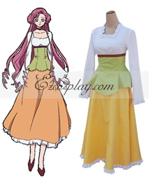 Image of Code Geass Euphemia Casual Wear Cosplay Costume