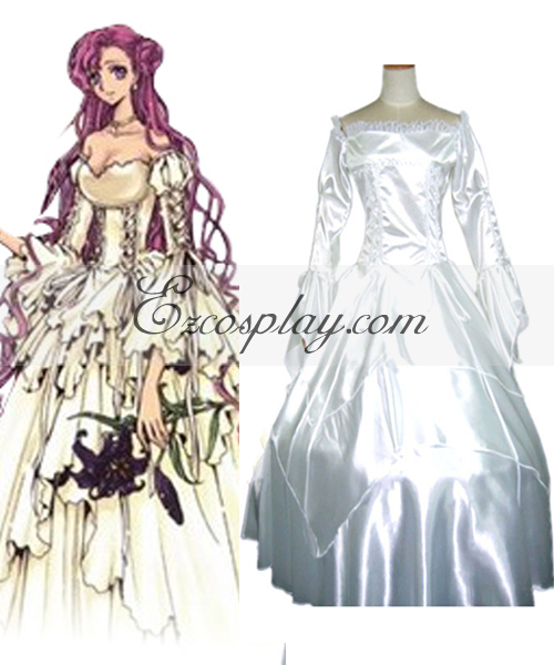 Image of Code Geass Euphemia Dress Cosplay Costume