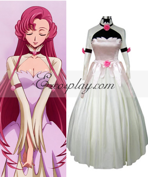 Image of Code Geass Euphemia Princess Dress Cosplay Costume