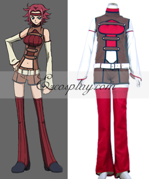 Image of Code Geass kallen Cosplay Costume