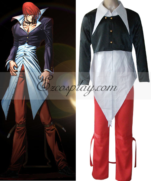 The King of Fighters' Iori Yagami Cosplay Costume None