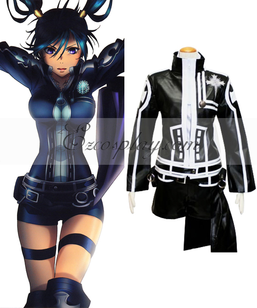 D.Gray-man Lenalee 2nd Uniform Cosplay Costume