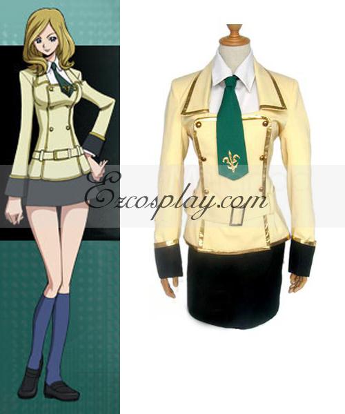 Code Geass Girl's School Uniform Cosplay Costume