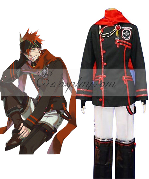 Image of D.Grayman Lavi 3rd Uniform Cosplay Costume