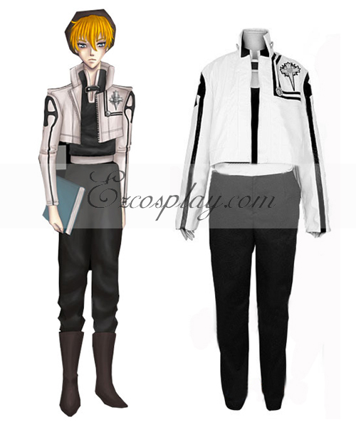 D.Gray-Man Bak Chan Cosplay Costume