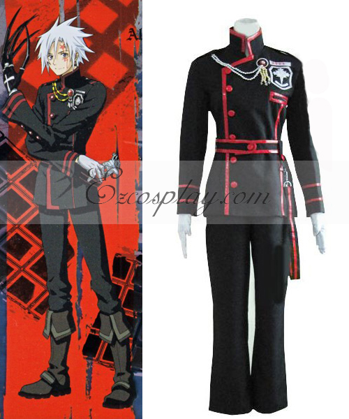 Image of D Grayman Allen Walker 3rd Uniform Cosplay Costume