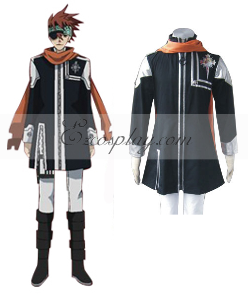 Image of D.Grayman Lavi Ist Uniform Cosplay Costume