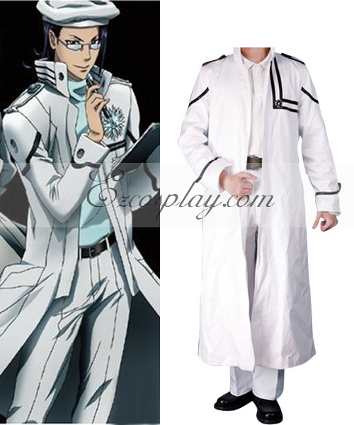 Image of D.Grayman Komui Lee Cosplay Costume