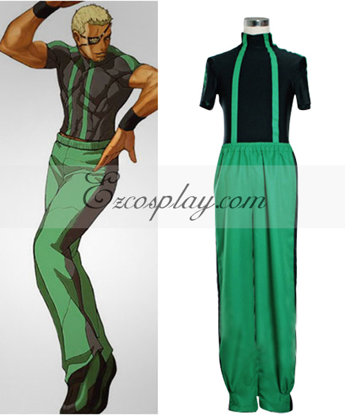 The King of Fighters' Ramon Cosplay Costume-1