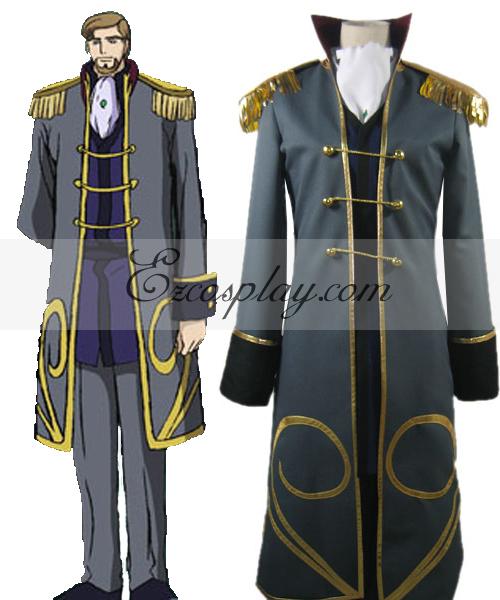 Code Geass Odysseus Wu Britannia Cosplay Costume