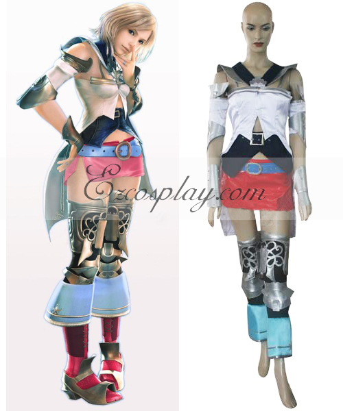 Final Fantasy XII Ashe B'nargin DalmascaCosplay Costume