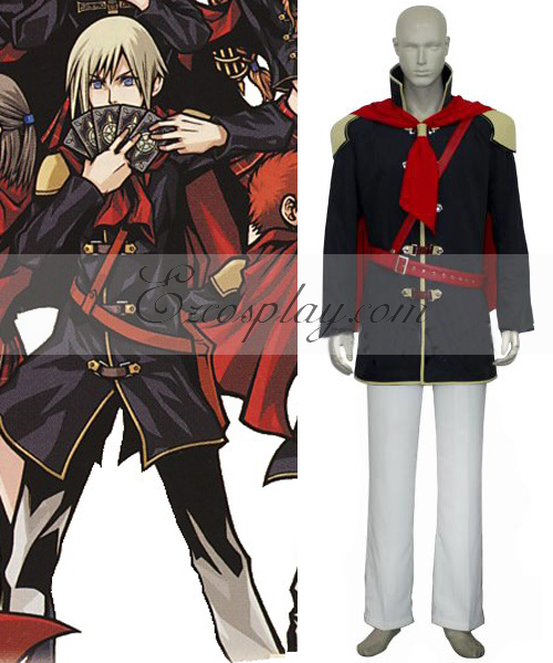 Final Fantasy XIII Agito Boy Uniform Cosplay Costume None