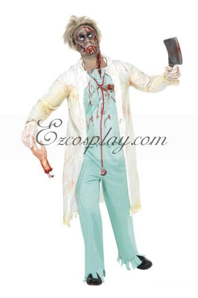 Halloween Doctor Cosplay Costume