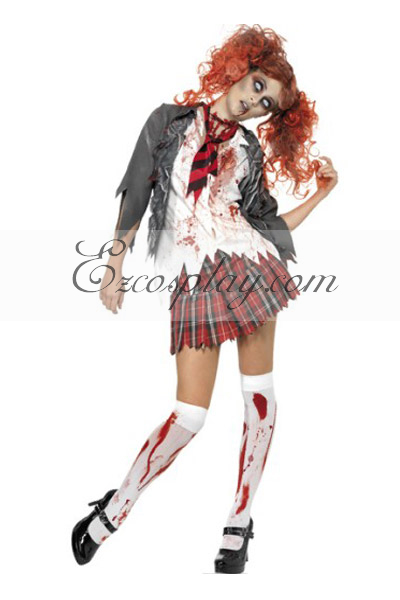 Halloween Girl's Uniform Cosplay Costume