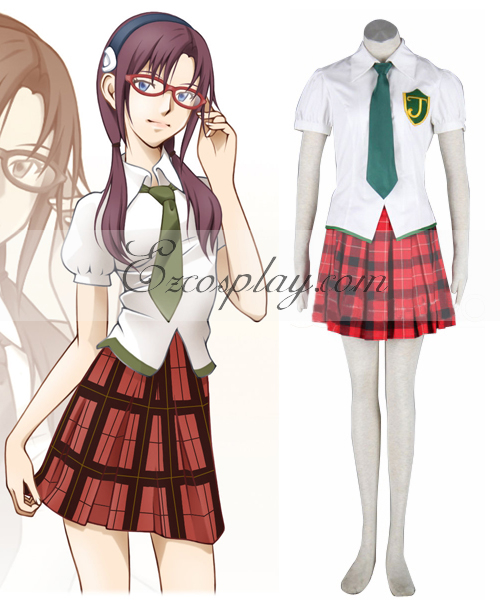 Neon Genesis Evangelion Makinami Uniform Cosplay Costume