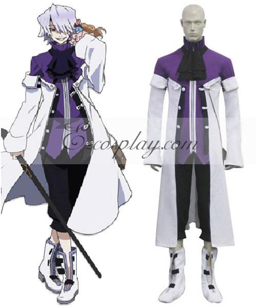 Pandora Hearts Xerxes Break Cosplay Costume