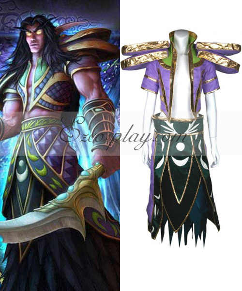 World Of Warcraft Night Elf Cosplay Costume