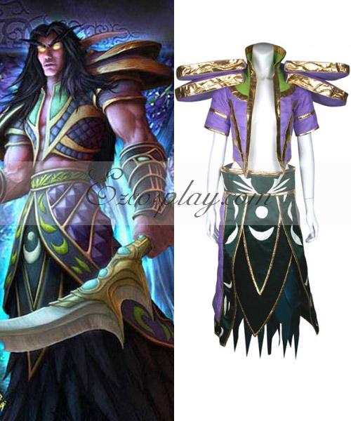 World Of Warcraft Night Elf Cosplay Costume.com