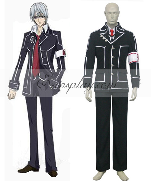 Vampire Knight Kiryu Zero Boys' Day Class Halloween Cosplay Uniform Costume None