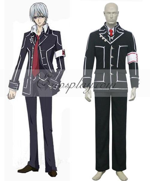 Vampire Knight Kiryu Zero Boys' Day Class Halloween Cosplay Uniform Costume (Jacket Only) None