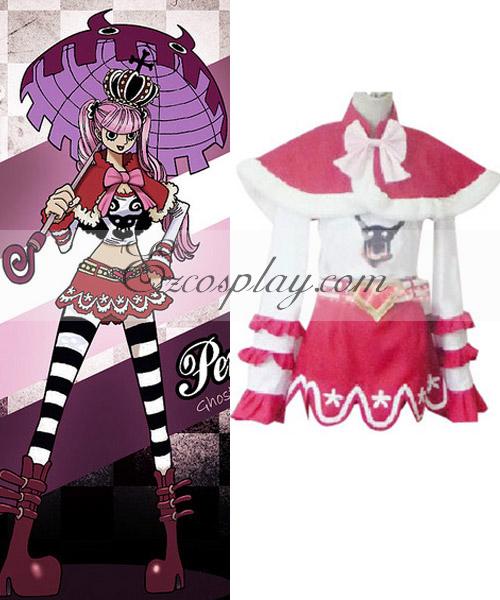 One Piece Perona (Ghost Princess) Cosplay Costume