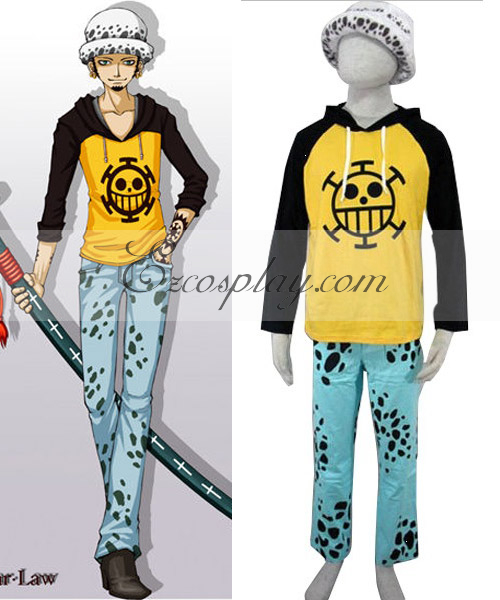 One Piece Trafalgar-Law Newer Cosplay Costume
