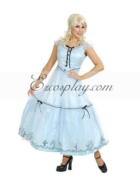 Alice in Wonderland Alice Movie Cosplay Costume