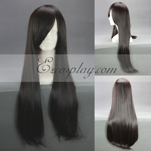 Final Fantasy Type-0 Queen Black Cosplay Wig-312A